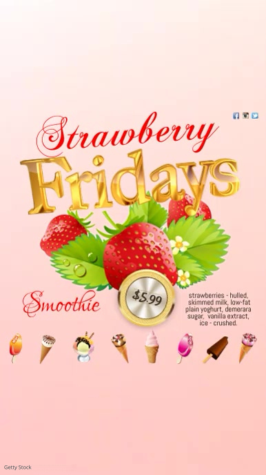 Strawberry Fridays Video