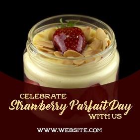 Strawberry Parfait day