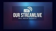 stream live Tampilan Digital (16:9) template
