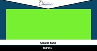 Streaming Green Screen Facebook Shared Image template