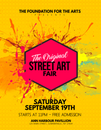 Street Art Fair Flyer