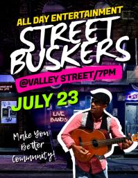 Street Buskers Flyer
