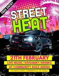 Street Heat Flyer