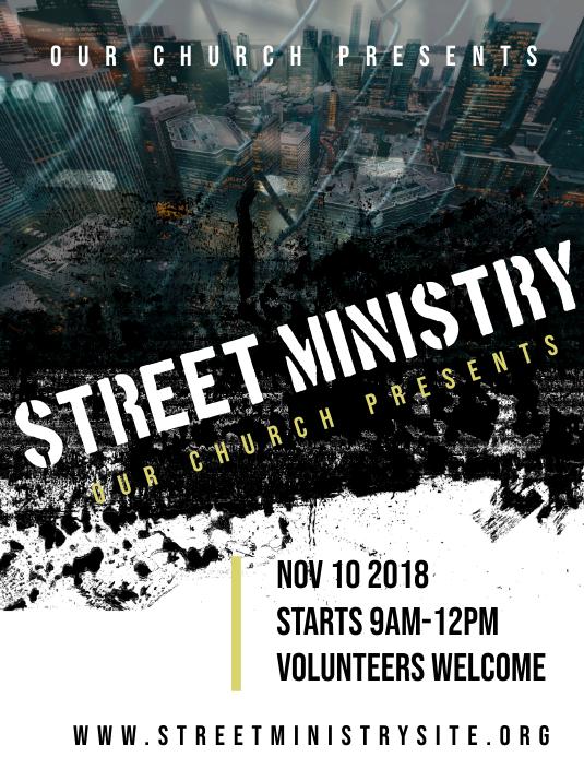 street ministry