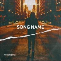 Street New York mixtape cover design template Pochette d'album