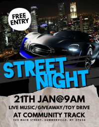 Street Night Flyer