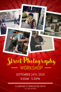Street Photography Workshop Poster