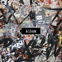 Street Wall Text Mask Album Song Cover Art 2 template