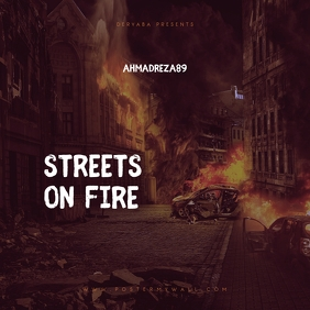 Streets on Fire Mixtape Cover