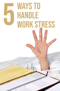 stress Grafica Pinterest template