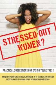Stress Poster Template