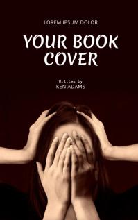 stress self-help Book Cover Template Sampul Buku