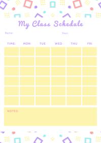 Student Class Schedule Planner