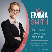 Student Council Election Campaign Instagram