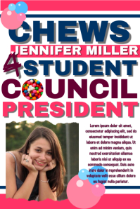 Customizable Design Templates for Student Council | PosterMyWall