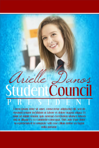 Student Election Campaign Poster