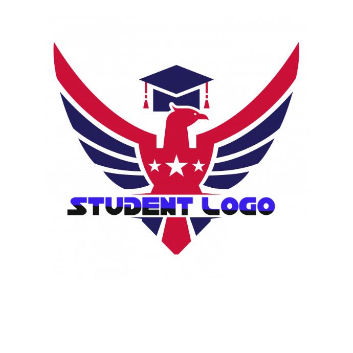 student logo 徽标 template