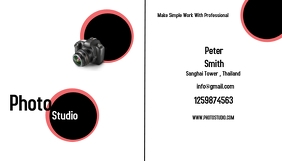 studio card template