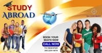 Study Abroad Flyer Template Image partagée Facebook