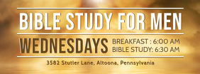 Study the Gospel for Men Invitation