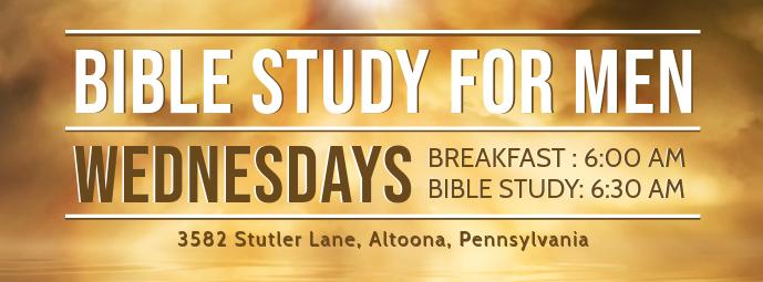 Study the Gospel for Men Invitation