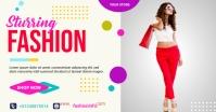 sturring fashion flyer Umkhangiso we-Facebook template