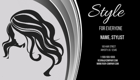 Style Beauty Salon Business Card