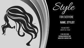 Style Beauty Salon Business Card