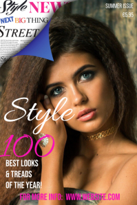 Style Magazine Cover Template