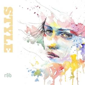 Style Music Pochette d'album template