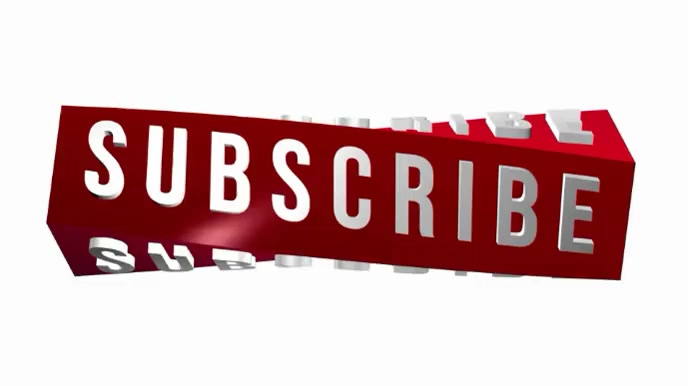 SUBSCRIBE BUTTON VIDEO Tampilan Digital (16:9) template