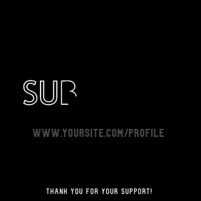 Subscribe Outline Font Video