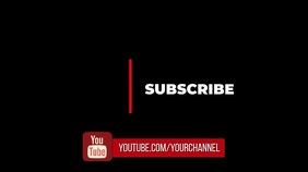 subscribe to youtube channel Digitalt display (16:9) template