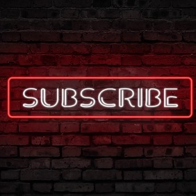 SUBSCRIBE VIDEO TEMPLATE Logo
