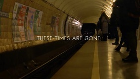 Subway Times Video Template Facebook-omslagvideo (16:9)