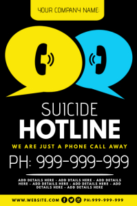 Suicide Hotline Poster