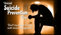 Suicide Prevention Day Тег template