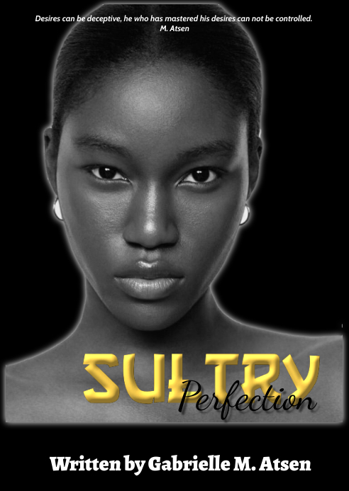 Sultry book cover A6 template