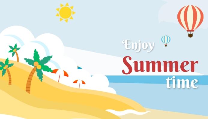 Summer,blog header template