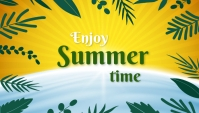 Summer,blog header 博客标题 template
