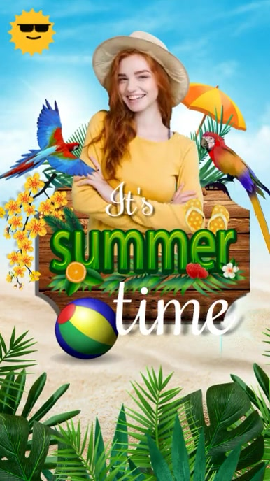 summer,retail,event,party Instagram Story template