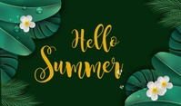 summer,retail,event,party Mærke template