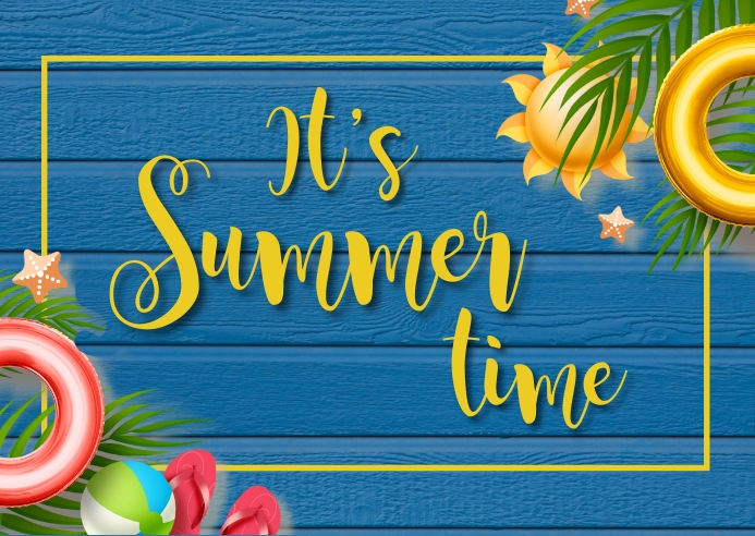 summer,retail,event,party Kartu Pos template