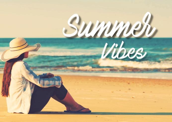 summer,retail,event Kartu Pos template
