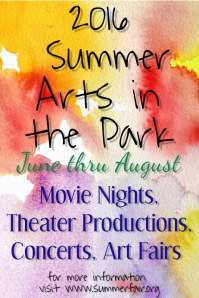 Summer Arts in the Park