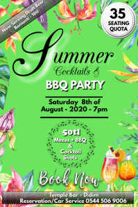 Summer BBQ & Cocktail party