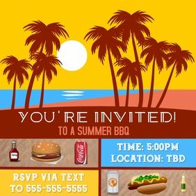 Summer BBQ Invite