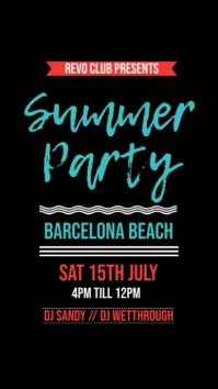 Summer Beach Party Instagram Template