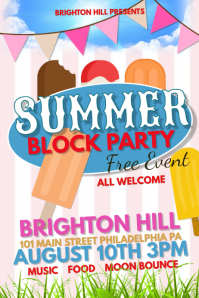 15 850 customizable design templates for block party postermywall