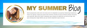 Summer Blog Email Header Isihloko Se-imeyili template